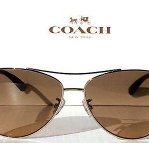 COPY-NWOT Coach Aviator Sunglasses